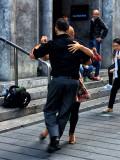 Sidewalk tango