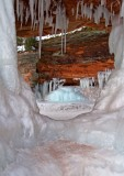 Ice Cave Window