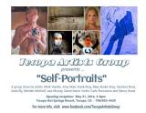 Tecopa Artists Group show:  Self-Portraits