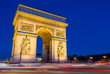 Arc de Triomphe at night  15_d800_1410