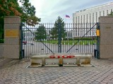 Entrance to Russian Embassy
