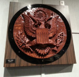 Spying Device at NSA Museum Hidden Behind Great Seal