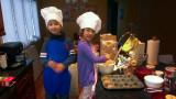 Grandkids Baking
