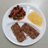 Seed Crusted Tofu Cutlets