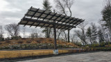 Solar Panels in Parking Area