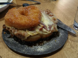 Would you believe a Fried Chicken and Donut Sandwich?