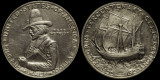 1920 Commemorative Half Dollar---Pilgrim