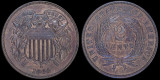 1864 Two Cent Bronze