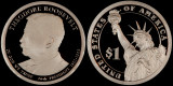 2013 S Presidential Dollar---Theodore Roosevelt - Proof