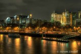 Embankment from Waterloo Bridge