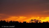 Cotswold Sunset (with rain)