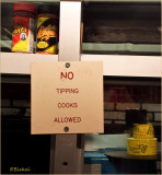 No Tipping Cook