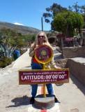 On the GPS Equator