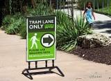 Tram Lane Only