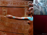 Detail on King Tut's Sarcophagus