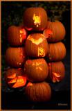 Pile of Glowing Pumpkins