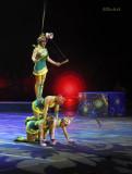 Chinese Acrobate Girls