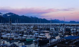 Sunset Over Seward Harbor