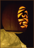 Mummy Pumpkin Head