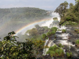 The falls at Foz do Iguacu.