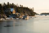 Winter harbour - morning light