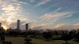 Delicate Sunset Vertical Panorama Tonight