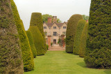A view of the house, from the Yew tree lawn.