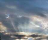 Blue rays.