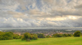 Portsmouth from Portsdown hill.