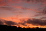 December sunset.