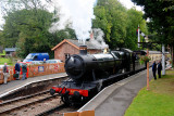3850 leaving Crowcombe Heathfield.