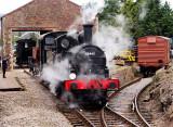 65462 Shunting at Dunster.