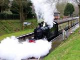5552 leaving Crowcombe Heathfield.