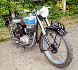 BSA - SVS 111.  Seems to be an old one, judging by the number plate