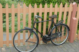 Old bike on Bridgnorth station.