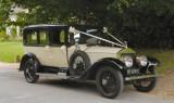The wedding Rolls Royce.