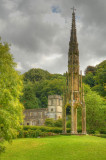 Stourhead.Gardens - Cross and Church