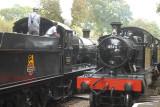 4566 arrives at Crowcombe Heathfield.