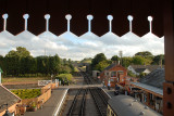 View of Williton Station from the new footbridge.