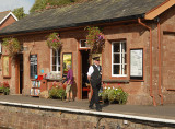 The Station Master at Crowcombe Heathfieild.