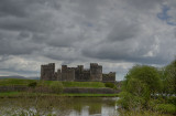 Caerphilly Castle.