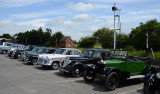 A display of STANDARD cars.