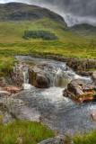 River Etive Falls - Etive Moor.