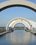 Top of the Falkirk Wheel.
