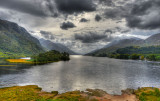 View from the top of Glenfinnan Monument