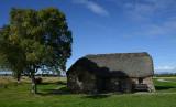 Farmhouse on Culloden Battlefield.