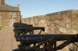 Heavy Canons at Stirling Castle.