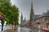 A wet day in Inverness.