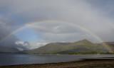 Rainbow over Loch Linnhe.