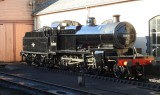 53808 outside the the engine shed.